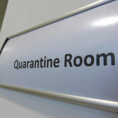 Designated Quarantine Room